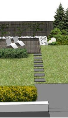 projektowanie ogrodów kraków wizualizacja